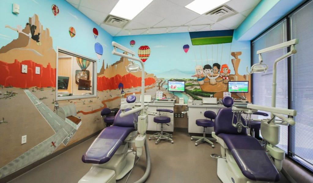 Albuquerque Themed Orthodontic area